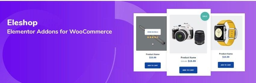 Eleshop – WooCommerce Elementor Addons