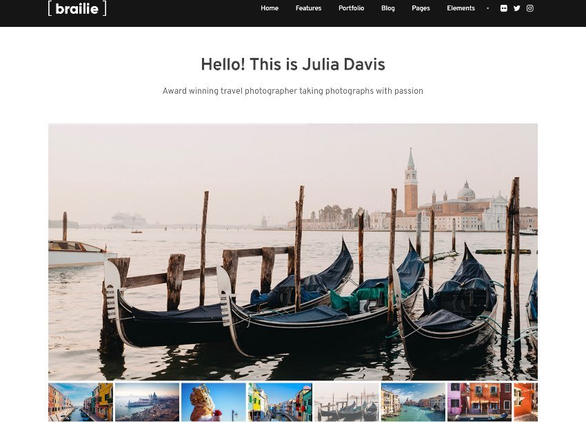 brailie-multipurpose-photography-site-template