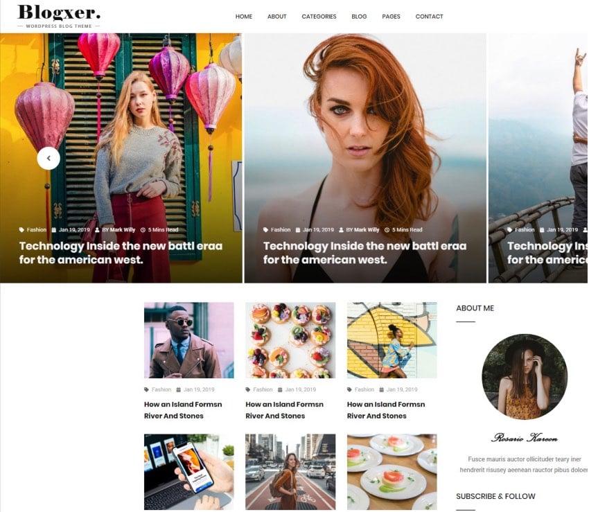 Bloxer - Blog & Magazine Bootstrap 4 Template