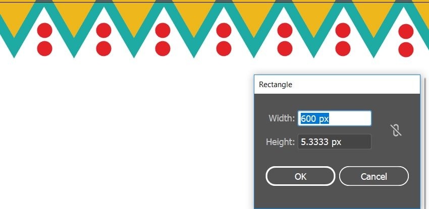 Changing the settings of the rectangles