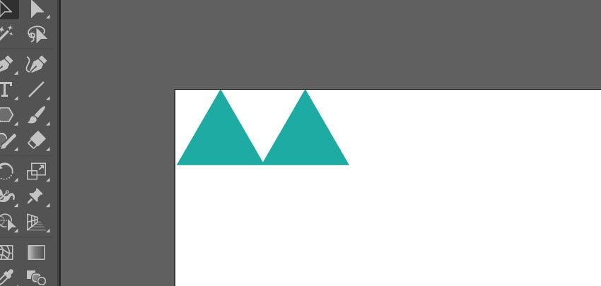 Duplicating the triangle once