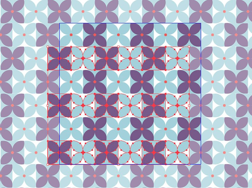 Edit the flower pattern