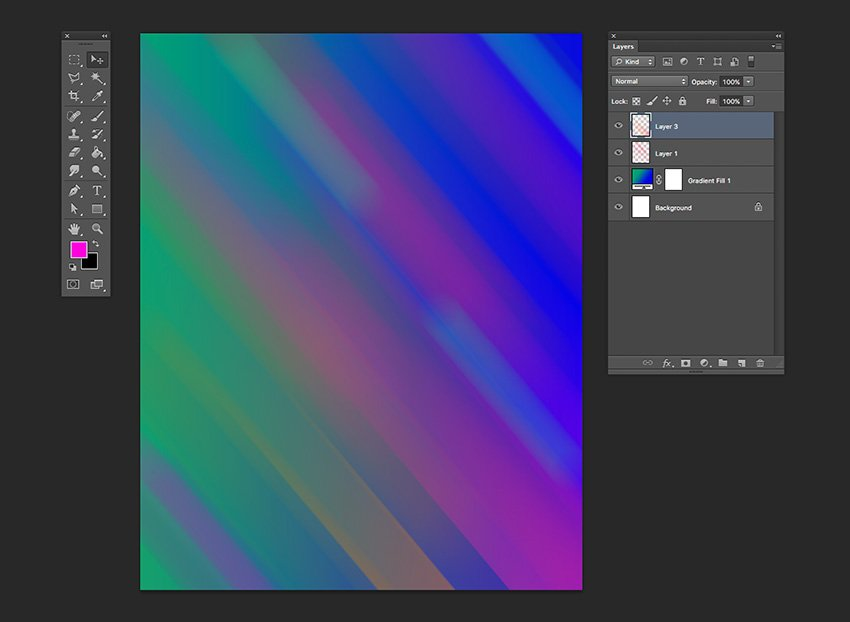 Repeat the action as many times youd like to create a dynamic background