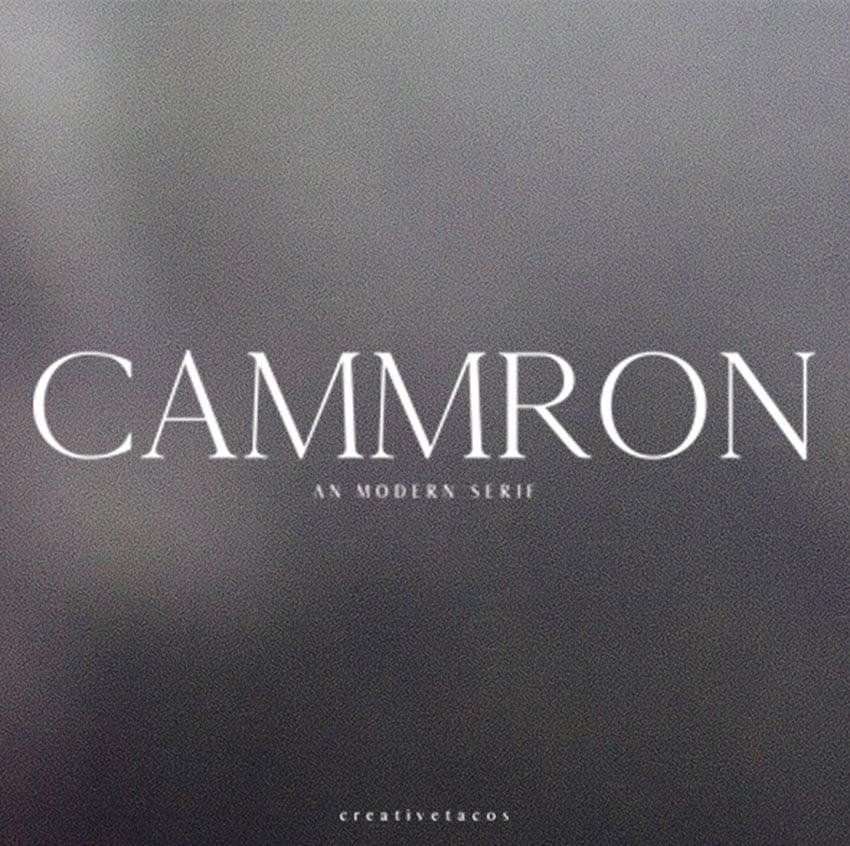 Cammron Serif