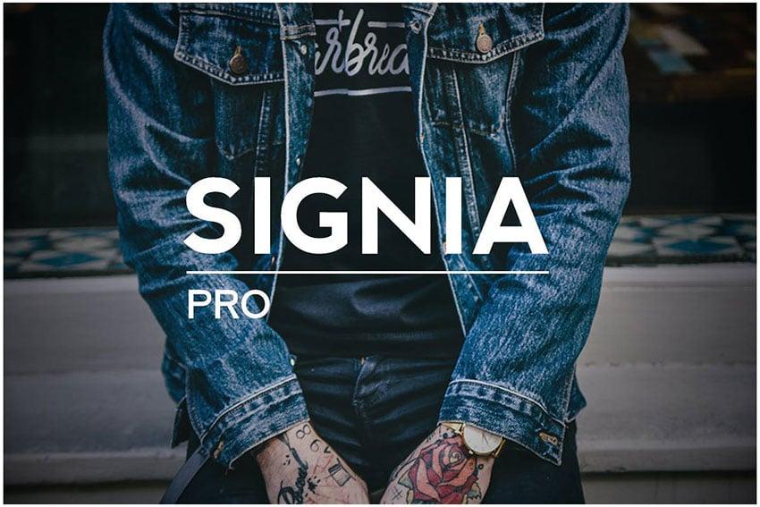 SIGNIA Pro