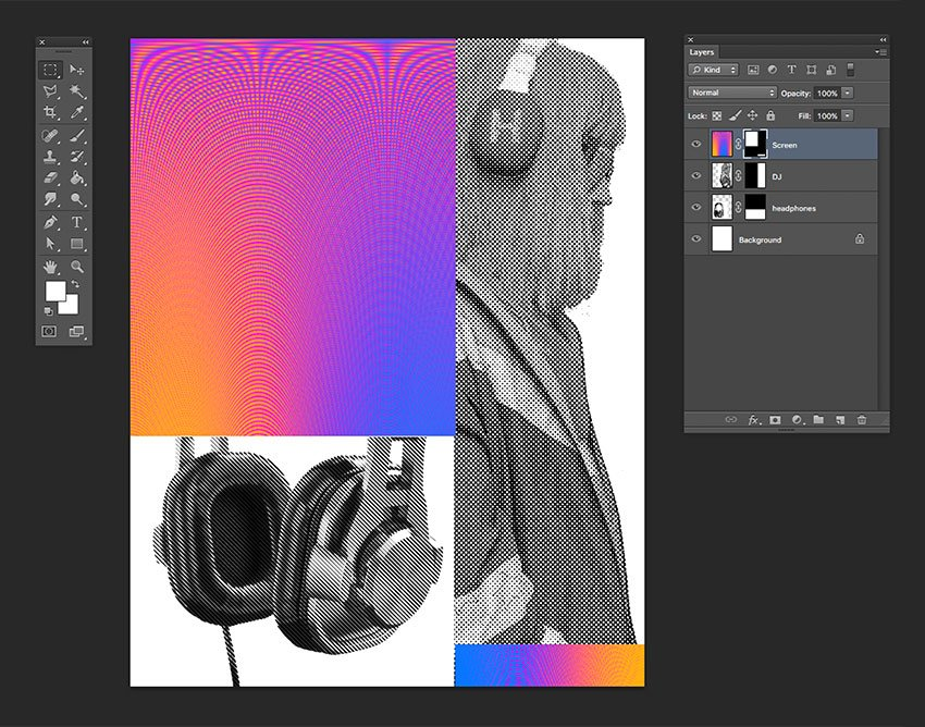 Create a layer mask to delete the parts we wont be using