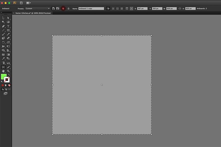 Create a new artboard