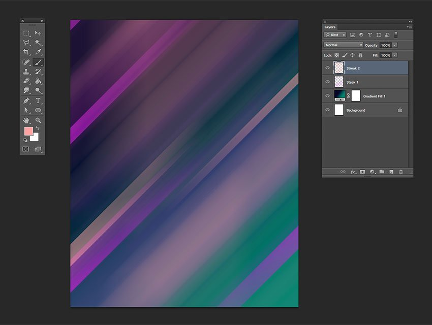 Create a new layer and use a different color to create the same effect