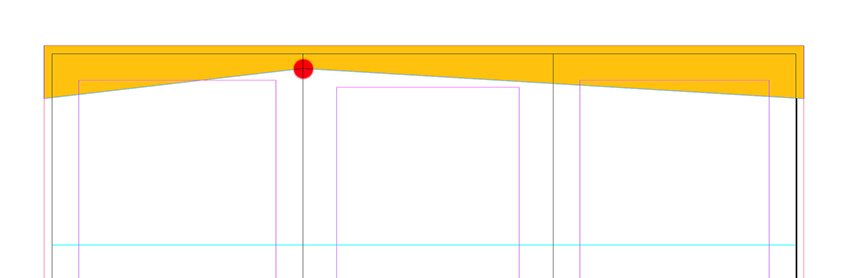 create a rectangle to cover the width of pagees 4-6