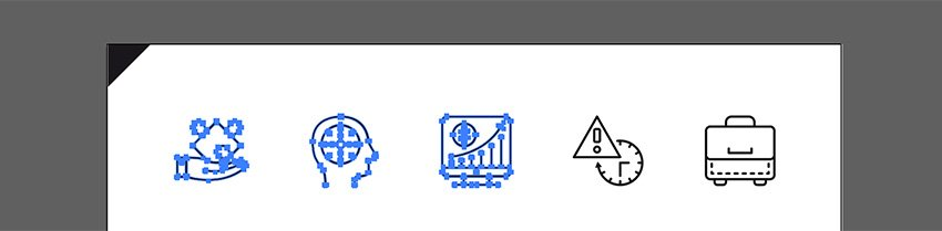 Open the icons file in illustrator and copy the objects