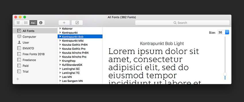 Install the fonts or activate if using InDesign CC