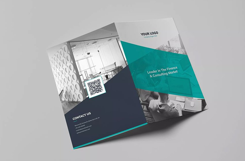 Brochure – Corporate Bi-Fold (PSD)