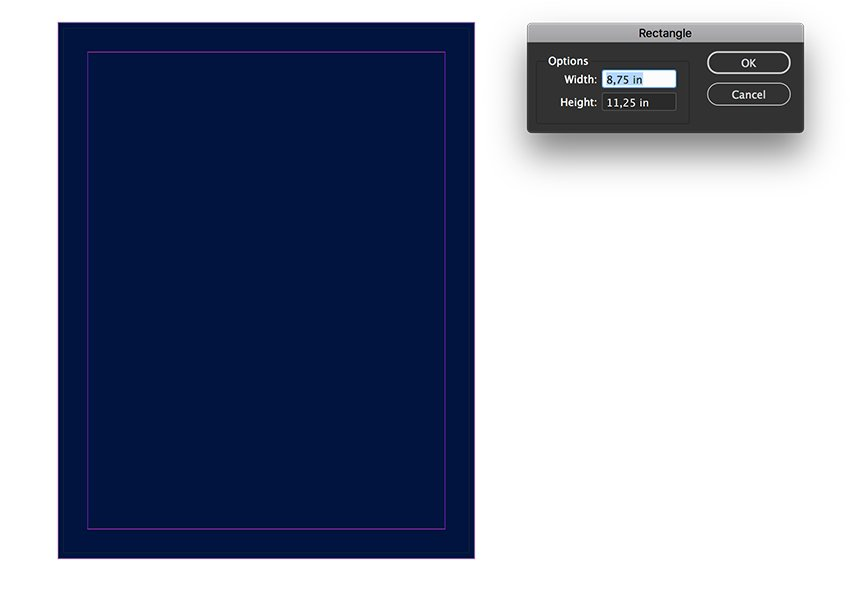 Create a rectangle as a background