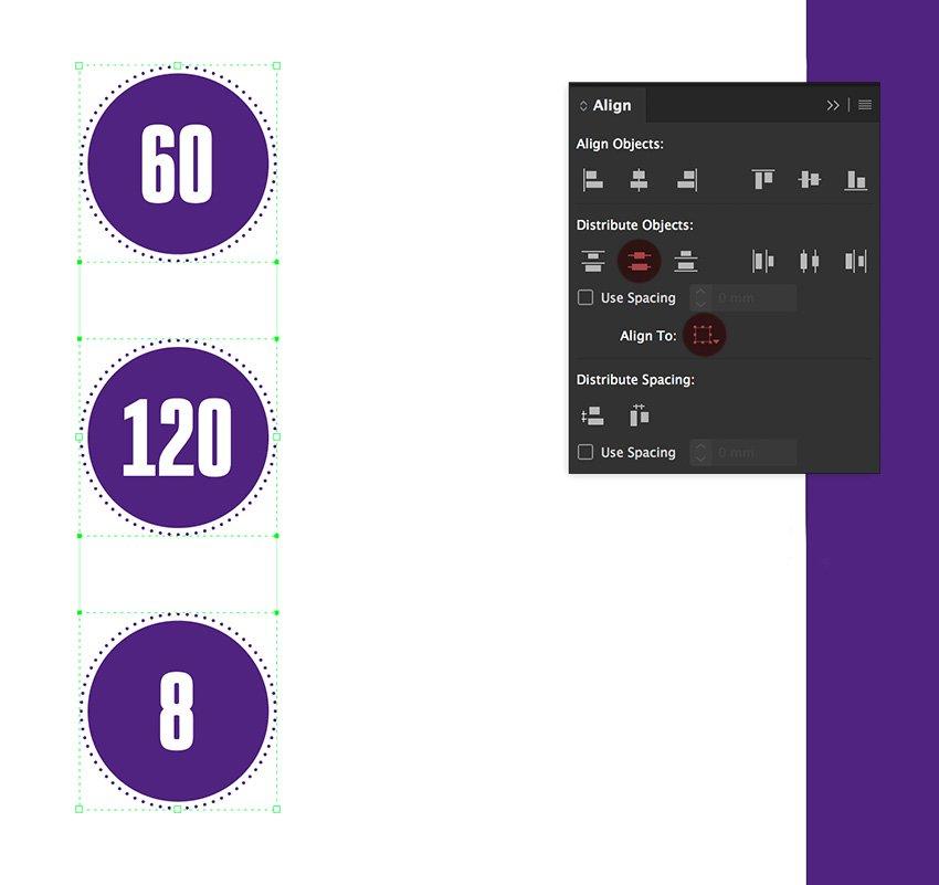 How to Make Brochure Pamphlet Design Tutorial duplicate and align the statistics ellipses