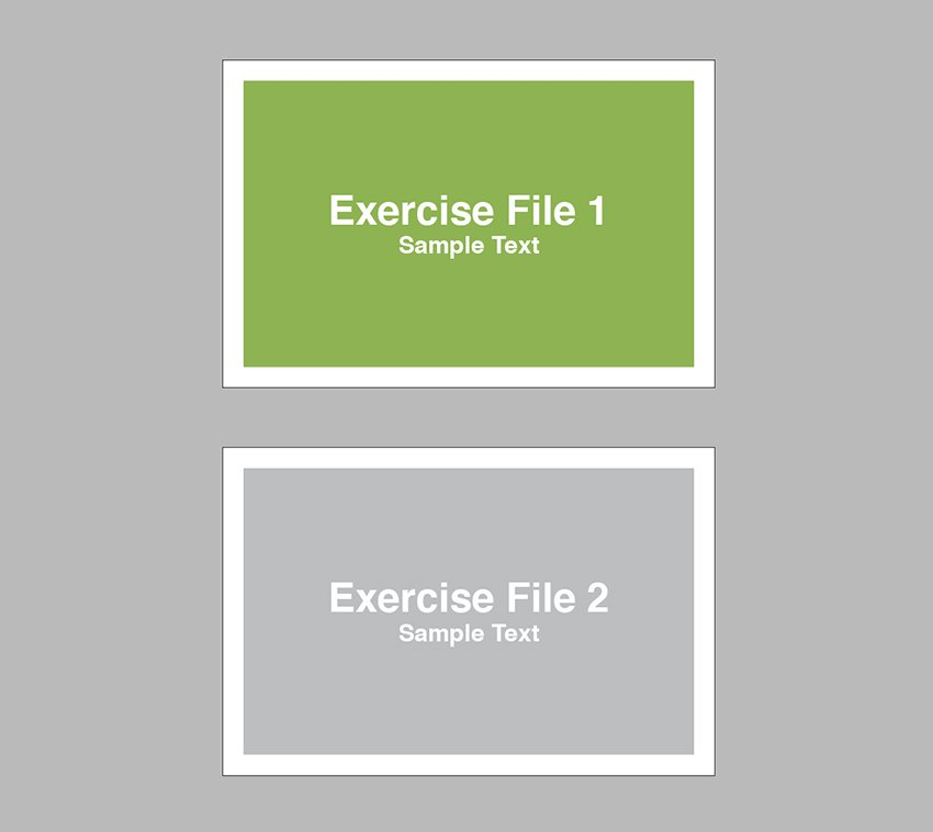 open the exercise file in indesign and open the document setup window