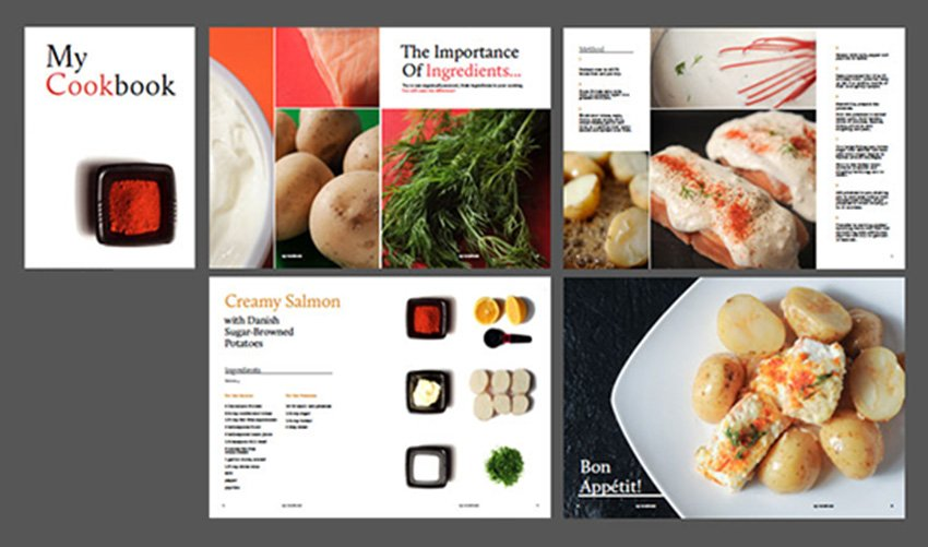 Design Striking Layouts for Your Own Cookery Book Using InDesign