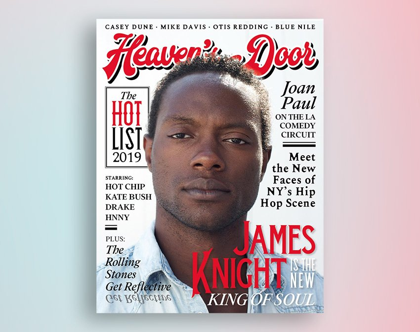How to Create a Rolling Stone-Inspired Magazine Cover