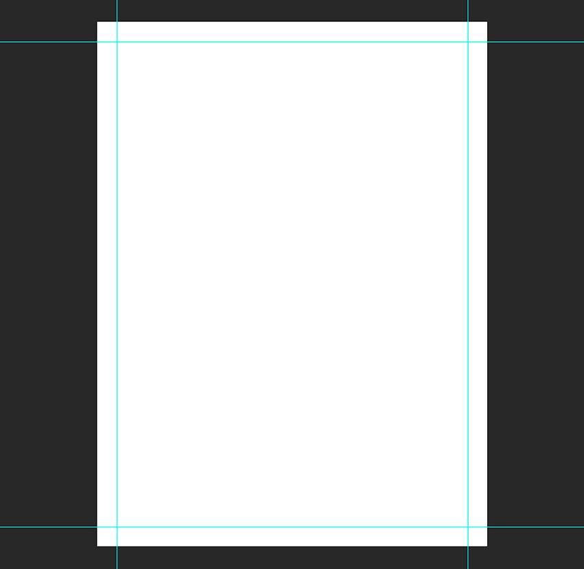 add margin guides around the document