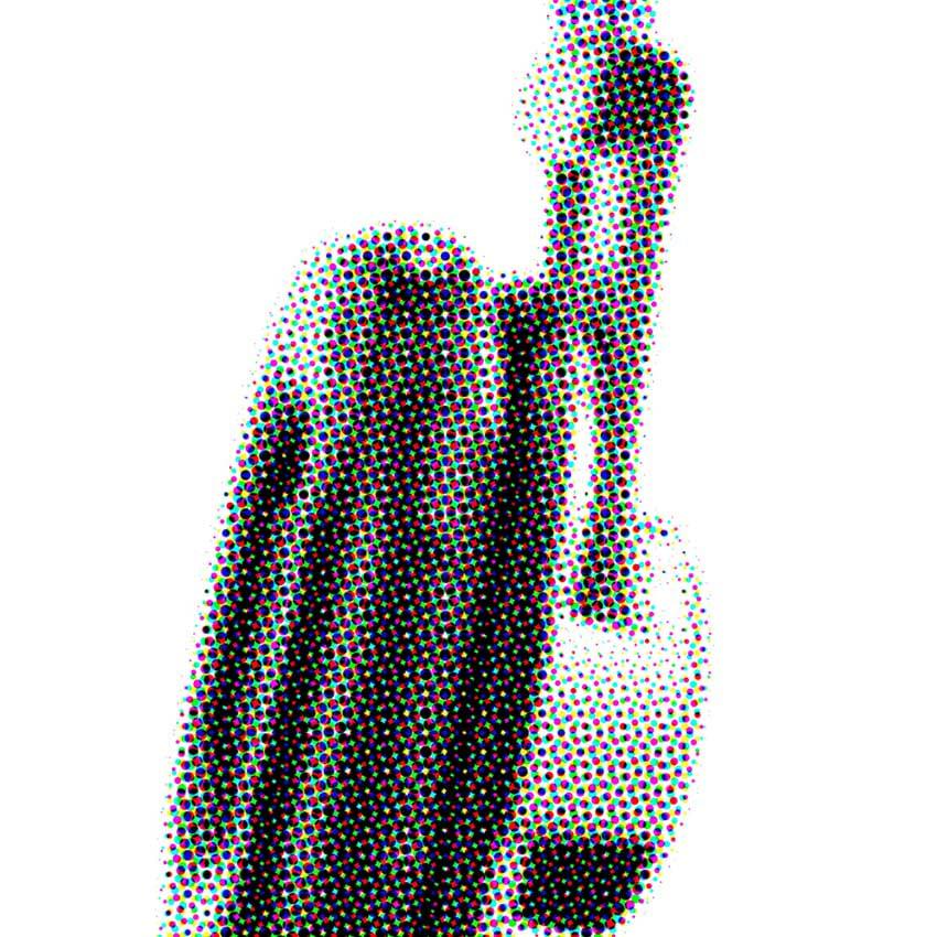 headphones image with max radius of 20
