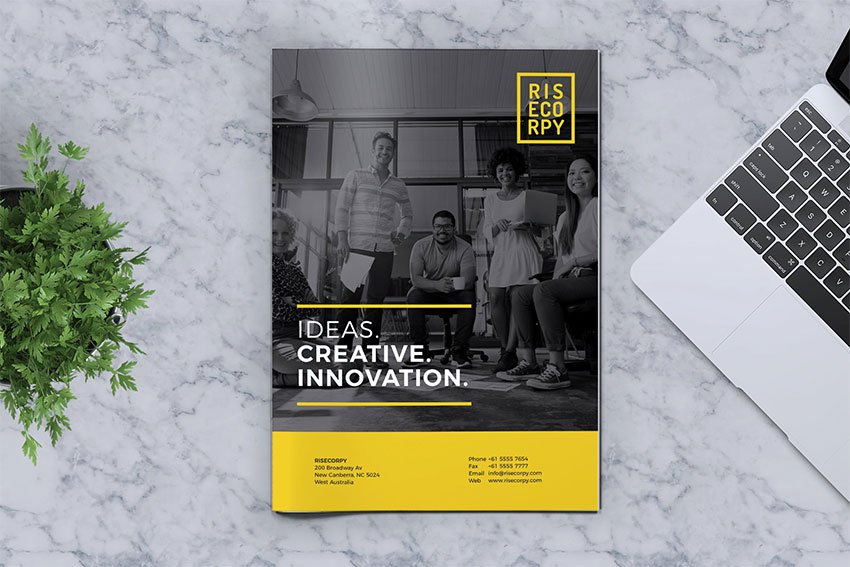 Creative Brochure Template Vol 40