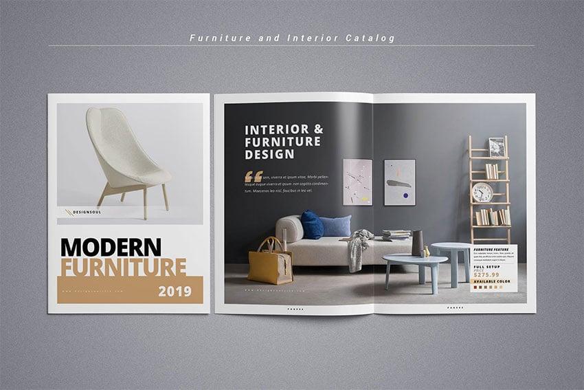Furniture and interior catalog
