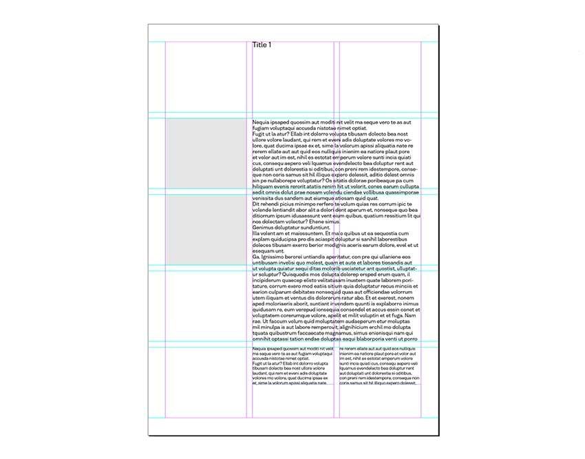 Modular grid
