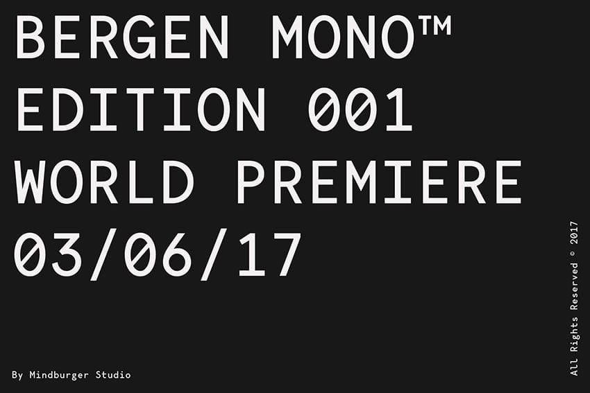 Bergen Mono