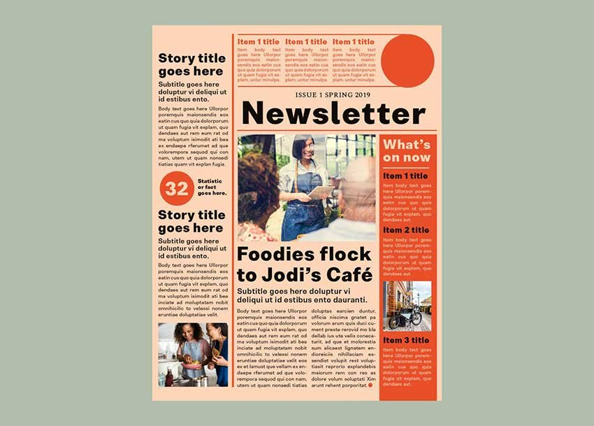 How to Create a One-Page Newsletter Template in InDesign