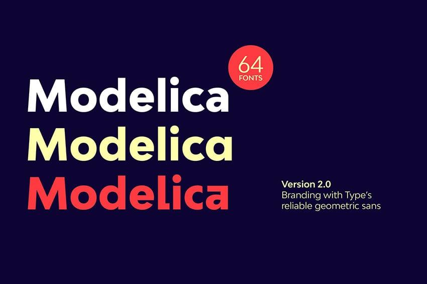 Fonts like Futura Bw Modelica
