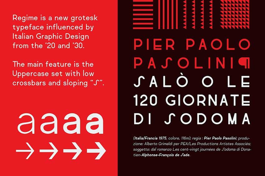 Fonts like Futura Regime Grotesk