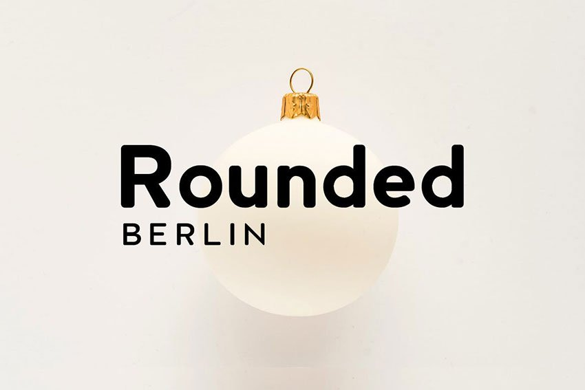 Gotham font alternative Berlin Rounded