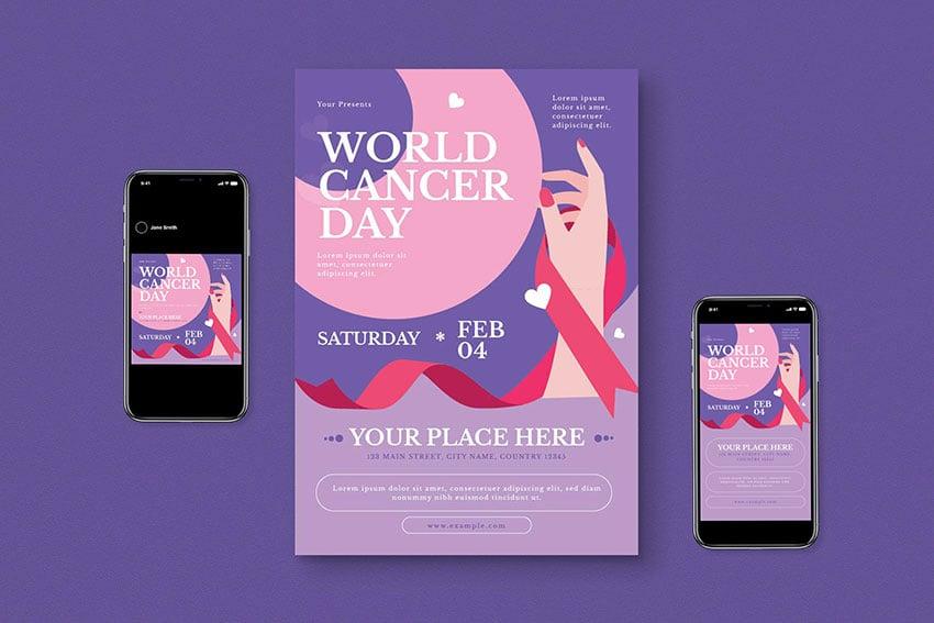 Cancer fundraiser flyer