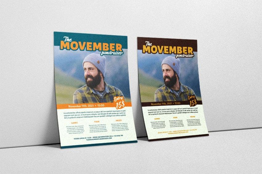 Customized fundraising flyer design