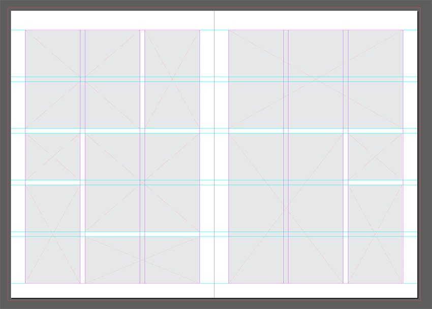 Add image frames to the layout