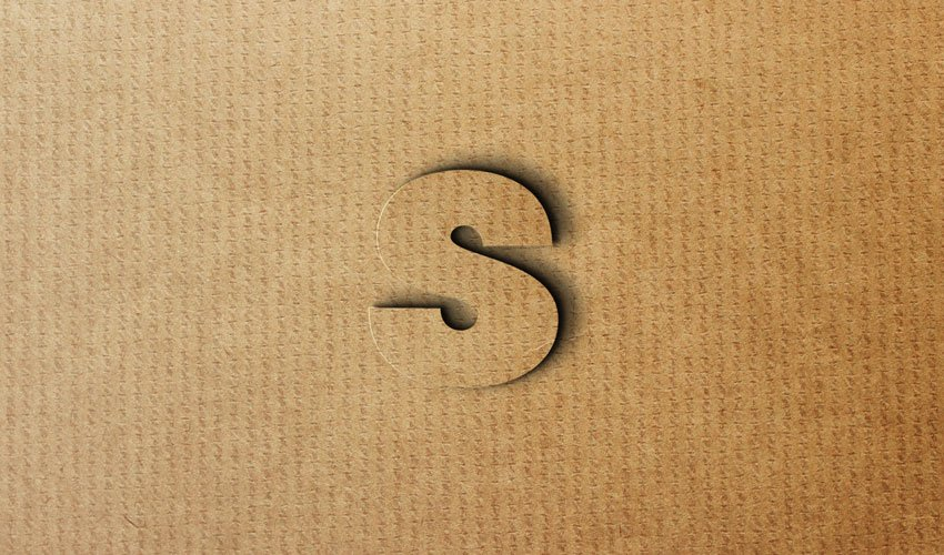 S in Different Styles, Paper Effect