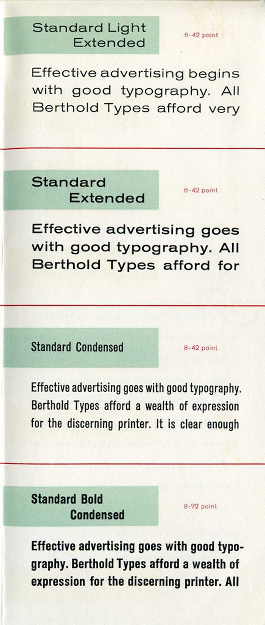 """""""Akzidenz Grotesk type specimen"""" by Dunwich Type is licensed under CC BY 2.0"""
