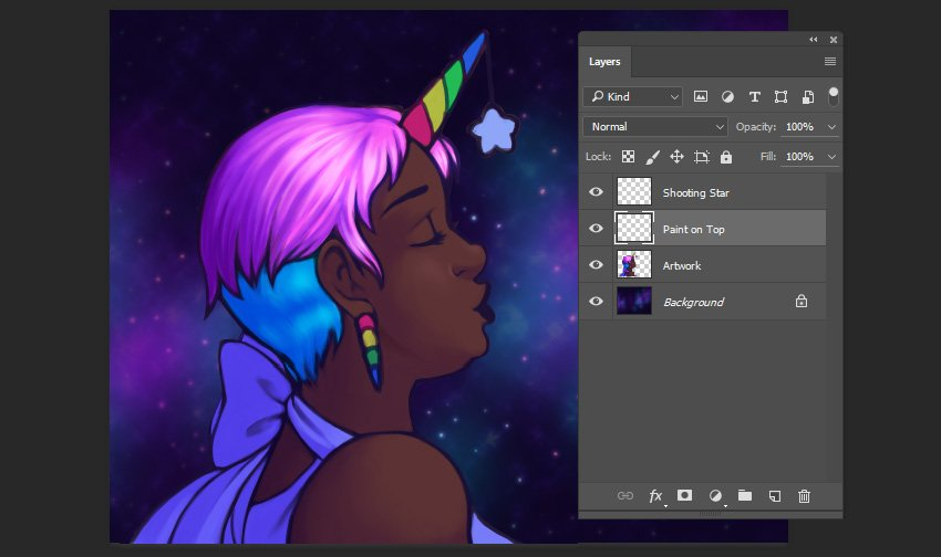 Preview of rendering the character