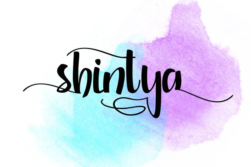 Shintya Typeface