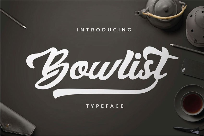 Bowlist Logo Type