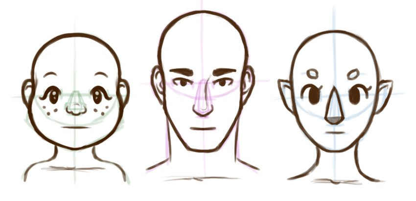 Continuing to refine the faces