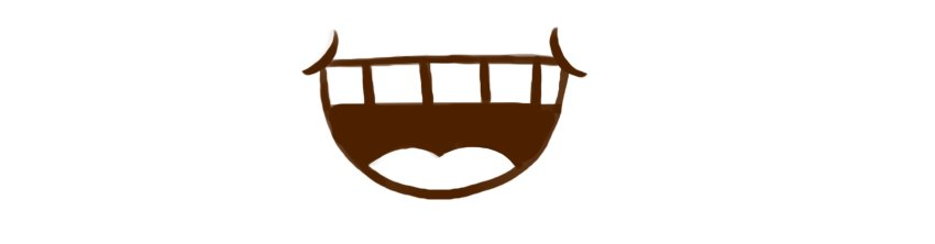 Example of simple mouth ideogram