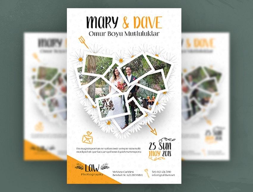 Wedding Poster Flyer Templates