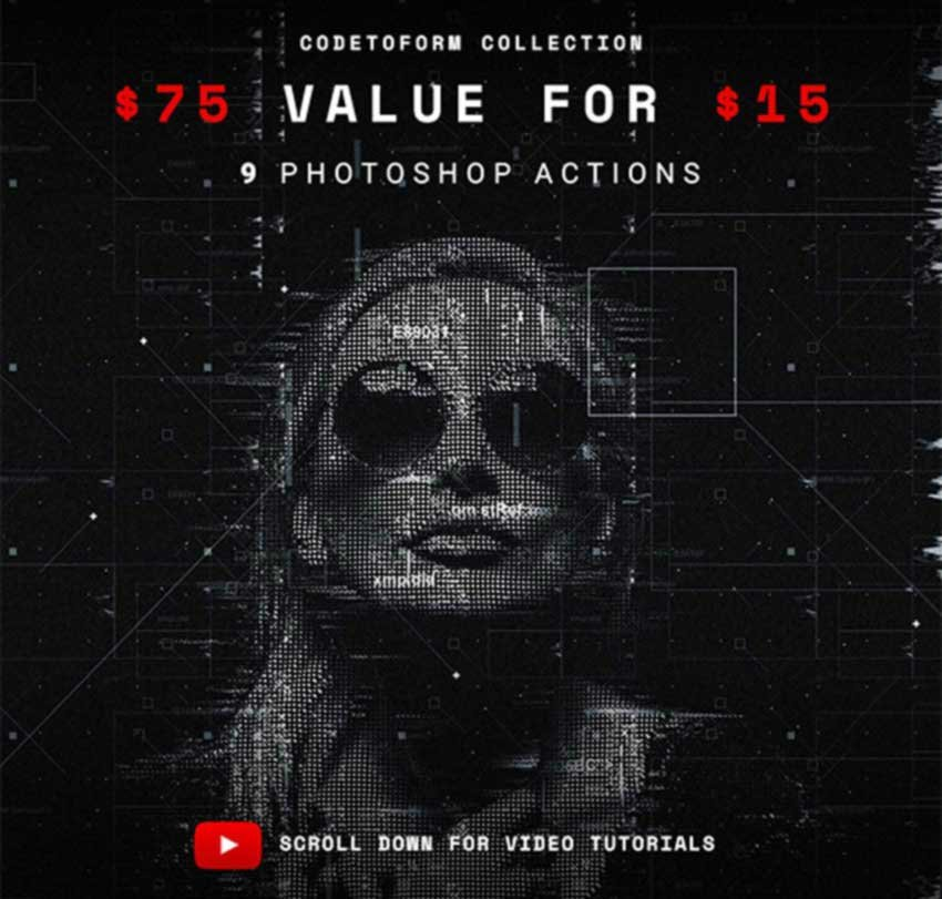 Codetoform Collection Photoshop Actions