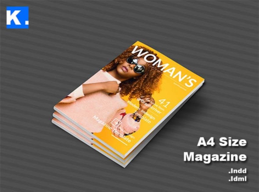 InDesign Magazine Template