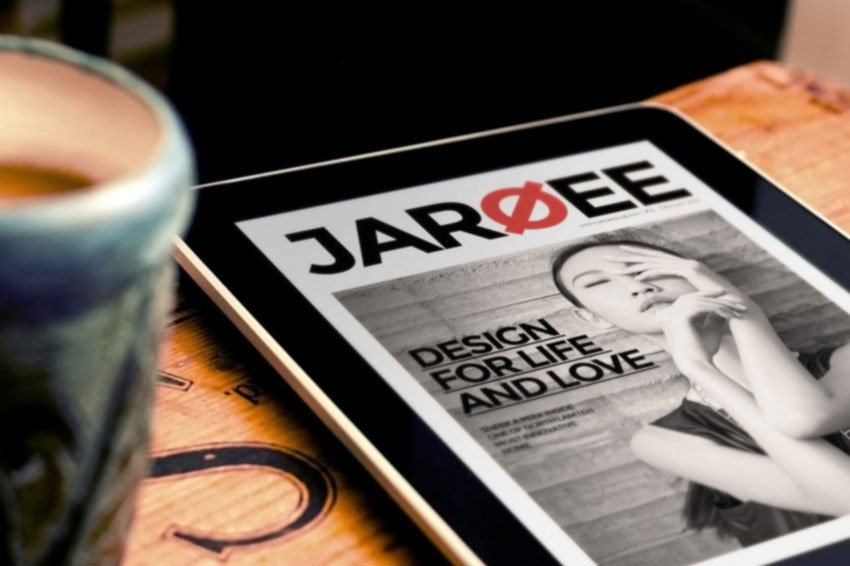 InDesign Tablet Magazine Template