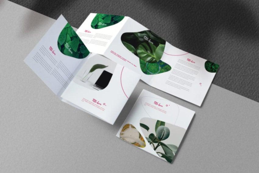 Clean Square Brochure