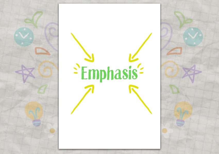 Emphasis Example
