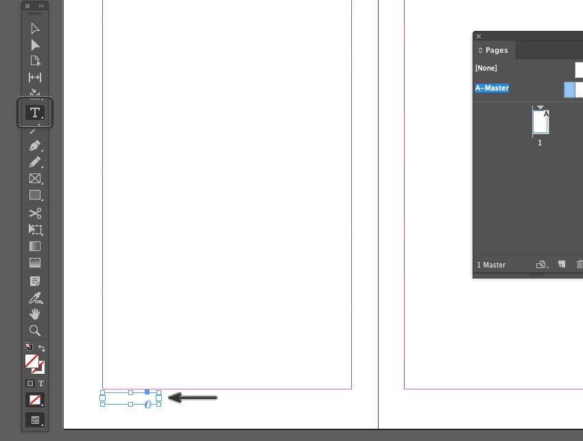 Adding a New Text Frame