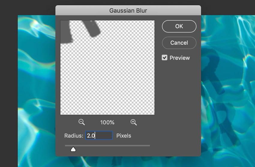 Gaussian Blur Options