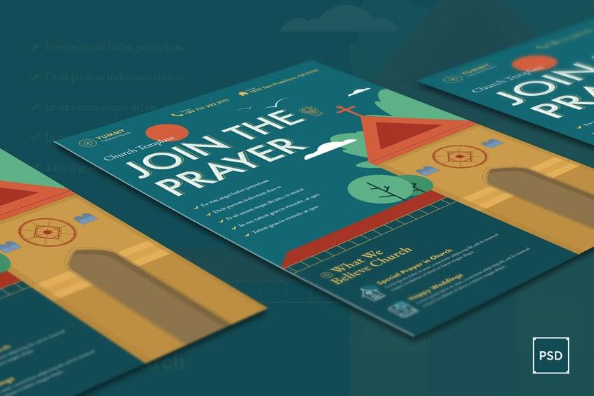 Church Flyer Design Background